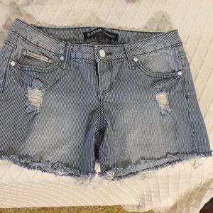 Xcode Jean strip shorts